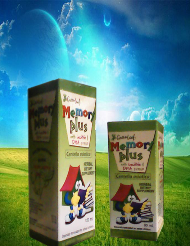 Memory Plus Syrup Plain 60ml 120ml Slim Multinational Enterprises